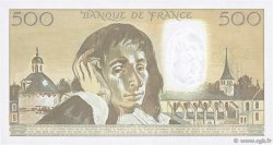 500 Francs PASCAL FRANCE  1991 F.71.46 SUP