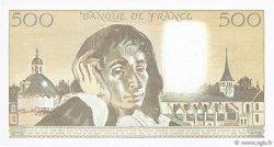 500 Francs PASCAL FRANCE  1992 F.71.49 SUP+