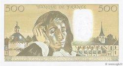 500 Francs PASCAL FRANCE  1992 F.71.49 TTB+