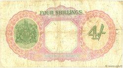 4 Shillings BAHAMAS  1936 P.09a B+