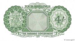 4 Shillings BAHAMAS  1953 P.13c pr.NEUF