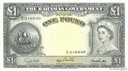 1 Pound BAHAMAS  1953 P.15c pr.SUP