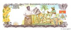 50 Cents BAHAMAS  1965 P.17a SPL