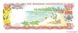 3 Dollars BAHAMAS  1965 P.19a SPL+