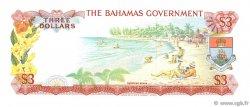 3 Dollars BAHAMAS  1965 P.19a NEUF