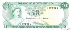 1 Dollar BAHAMAS  1968 P.27a pr.NEUF
