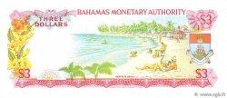 3 Dollars BAHAMAS  1968 P.28a SUP