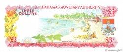 3 Dollars BAHAMAS  1968 P.28a NEUF