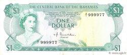 1 Dollar BAHAMAS  1974 P.35a TTB+