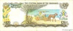 20 Dollars BAHAMAS  1974 P.39a pr.TTB