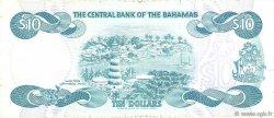 10 Dollars BAHAMAS  1984 P.46b TTB