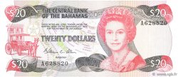 20 Dollars BAHAMAS  1984 P.47a pr.NEUF