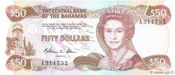 50 Dollars BAHAMAS  1984 P.48a pr.NEUF