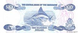 100 Dollars BAHAMAS  1984 P.49 pr.NEUF