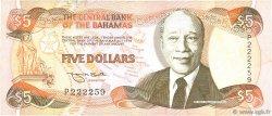 5 Dollars BAHAMAS  1995 P.52 TB+