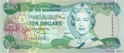 10 Dollars BAHAMAS  1996 P.59 NEUF