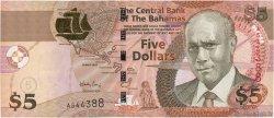 5 Dollars BAHAMAS  2007 P.72 pr.NEUF