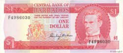 1 Dollar BARBADE  1973 P.29a SUP