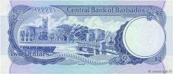 2 Dollars BARBADE  1980 P.30a NEUF