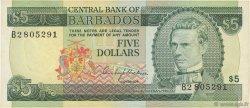 5 Dollars BARBADE  1973 P.31a SUP