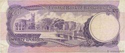 20 Dollars BARBADE  1973 P.34a TB+