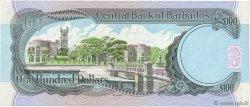 100 Dollars BARBADE  1986 P.35B TTB+