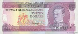 20 Dollars BARBADE  1988 P.39 NEUF