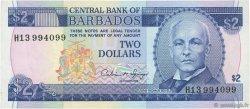 2 Dollars BARBADE  1993 P.42 SUP