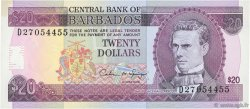 20 Dollars BARBADE  1993 P.44 NEUF