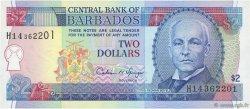 2 Dollars BARBADE  1995 P.46 NEUF