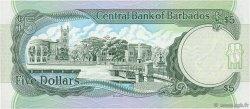 5 Dollars BARBADE  1996 P.47 NEUF