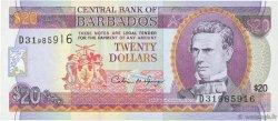 20 Dollars BARBADE  1996 P.49/50 NEUF
