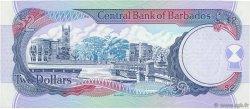 2 Dollars BARBADE  1999 P.54b NEUF