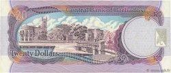20 Dollars BARBADE  1999 P.57 TTB+