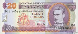 20 Dollars BARBADE  1999 P.57 NEUF