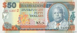 50 Dollars BARBADE  1999 P.58 NEUF