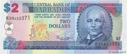 2 Dollars BARBADE  2000 P.60 NEUF