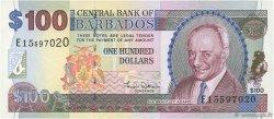 100 Dollars BARBADE  2000 P.65 NEUF