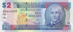 2 Dollars BARBADE  2007 P.66a pr.NEUF