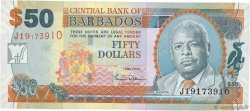 50 Dollars BARBADE  2007 P.70a NEUF