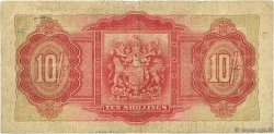 10 Shillings BERMUDES  1937 P.10b