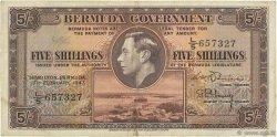 5 Shillings BERMUDES  1947 P.14 TTB