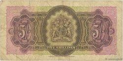 5 Shillings BERMUDES  1952 P.18a B