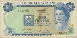 1 Dollar BERMUDES  1970 P.23a TTB