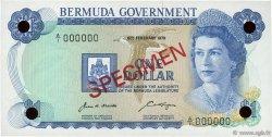1 Dollar BERMUDES  1970 P.23s NEUF