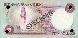 5 Dollars BERMUDES  1970 P.24s NEUF