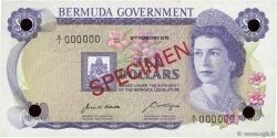 10 Dollars BERMUDES  1970 P.25s NEUF