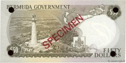 50 Dollars BERMUDES  1970 P.27s NEUF