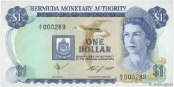 1 Dollar BERMUDES  1984 P.28b NEUF