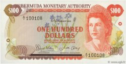 100 Dollars BERMUDES  1984 P.33b NEUF